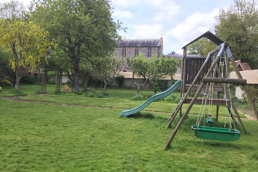 Cottage Swing and Slide